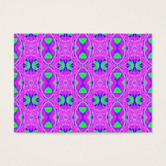 padrão abstrato business card