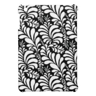 padrão abtrato em preto e branco cover for the iPad mini