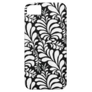 padrão abtrato em preto e branco iPhone SE/5/5s case
