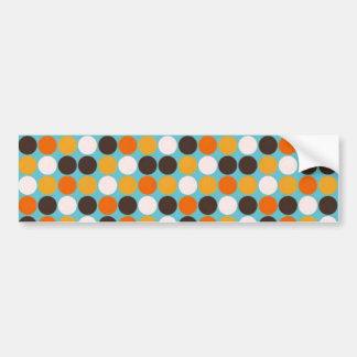 padrão com bolas bumper sticker