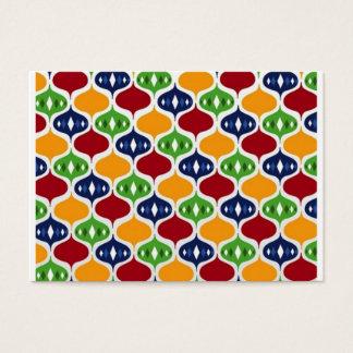 padrão com bolas business card