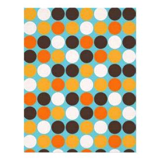 padrão com bolas flyer