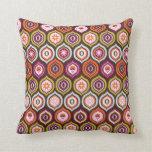padrão com bolinhas travesseiro de decoração