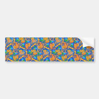 padrão com cornecopias bumper sticker