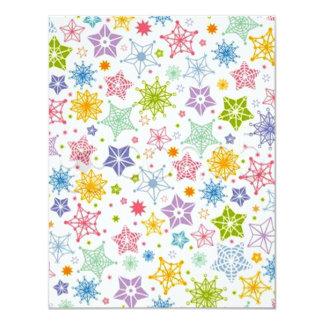 padrão com estrelas card
