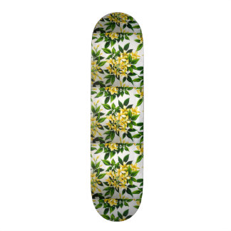 padrão com flores skate