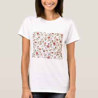 padrão com florinhas vermelhas T-Shirt