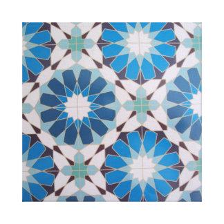 padrão com formas geometricas stretched canvas prints