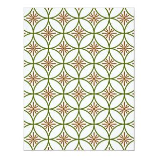 padrão com formas geometricas card