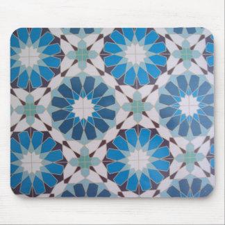 padrão com formas geometricas mouse pad