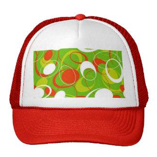 padrão com formas geometricas trucker hat