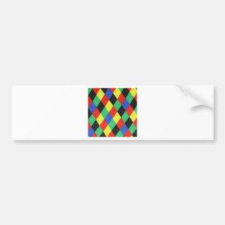 padrão com lousangulos bumper sticker
