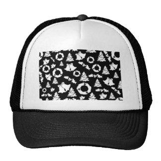 padrão com motivos de natal trucker hat