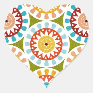 padrão com rodinhas heart sticker