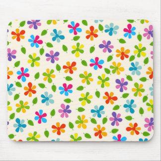 padrão de florinhas mouse pad