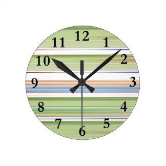 Padrão de repetição de listas round clock