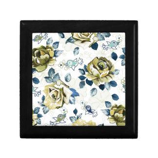 padrão de rosas caja de joyas