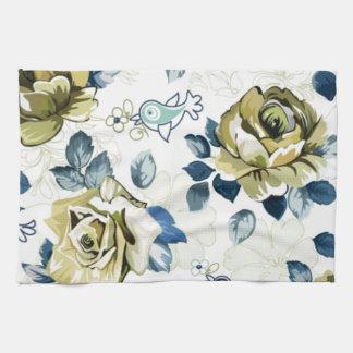 padrão de rosas toallas