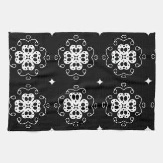 padrão de trevos toallas de cocina