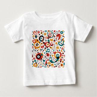 padrão divertido baby T-Shirt