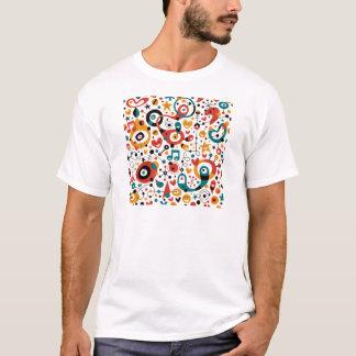 padrão divertido T-Shirt