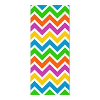 padrão em zig zag card