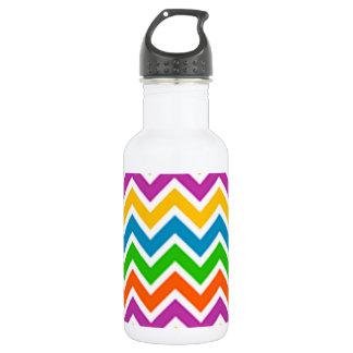 padrão em zig zag water bottle