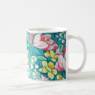 padrão floral taza