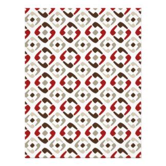 padrão formas geometricas quadrados flyer