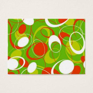 padrão geometrico business card