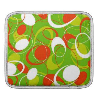 padrão geometrico iPad sleeve