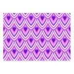 padrão geometrico tarjetas de visita grandes