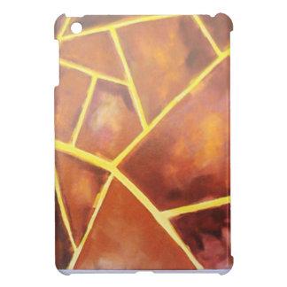 padrão riscas com manchas capa para iPad mini
