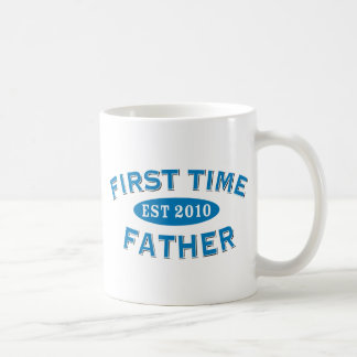 Padre 2010 de la primera vez taza