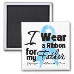 Padre - cinta del cáncer de próstata imanes