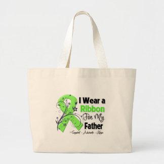 Padre - cinta del linfoma bolsas de mano