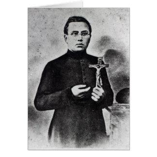 Padre Damián Tarjeta De Felicitación