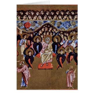Padre de dios por el amo de los sermones del monje tarjeton