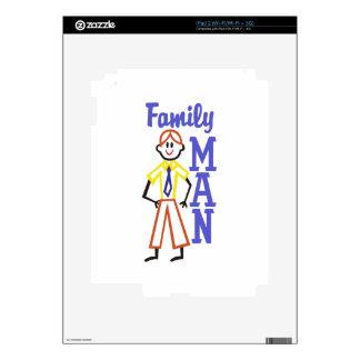Padre de familia iPad 2 calcomanía