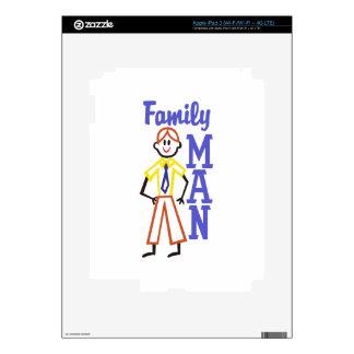 Padre de familia iPad 3 skins