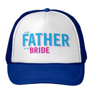 Padre de la camiseta de la novia gorro