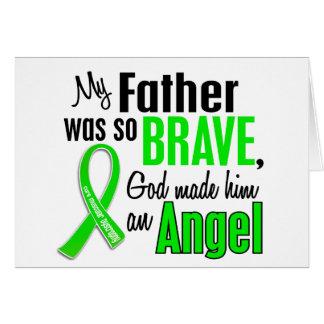 Padre de la distrofia muscular del ángel 1 tarjeta