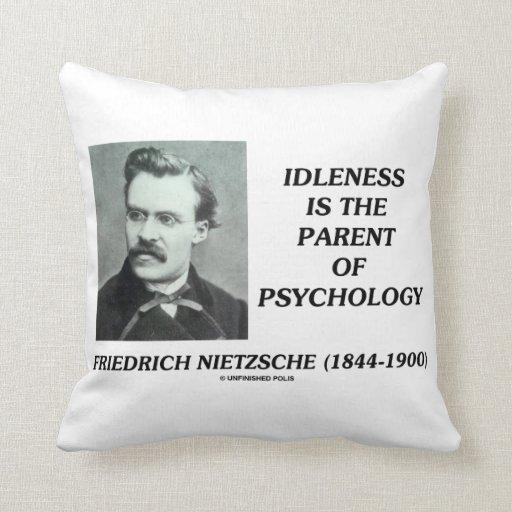 Padre de la indolencia de Friedrich Nietzsche de l Cojines
