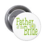 Padre de la margarita de la novia pins