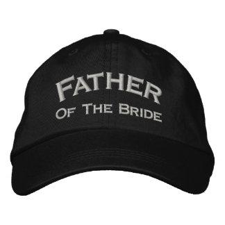 Padre de la novia bordado casando el gorra gorro bordado
