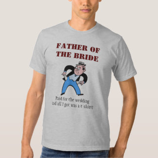 Padre de la novia camisas