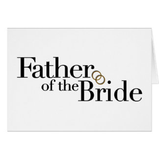 Padre de la novia felicitación
