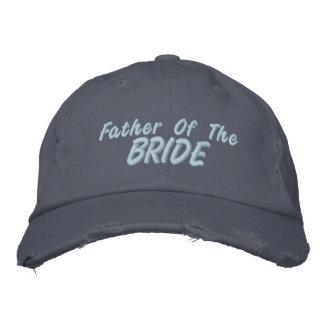 Padre de la novia gorra bordada