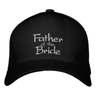 Padre de la novia gorra de béisbol bordada