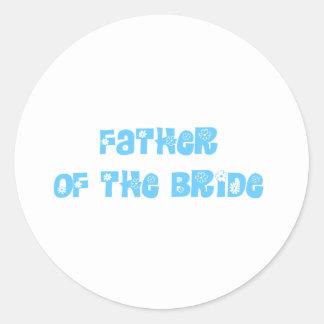 Padre de la novia pegatina